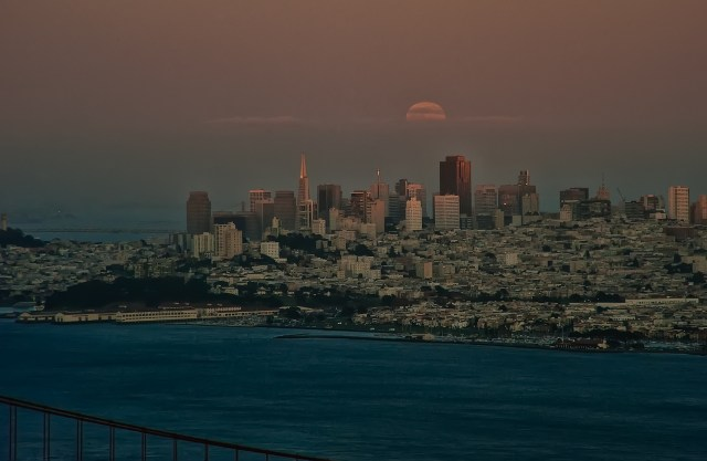 San Francisco is too big for that. Credit: Anita Retinour, Flickr