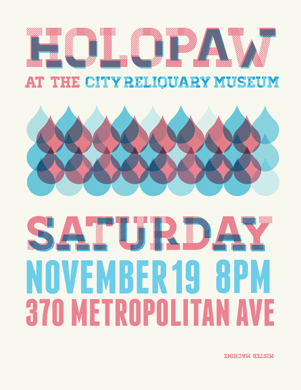 Holopaw at City Reliquary on November 19 at 8pm