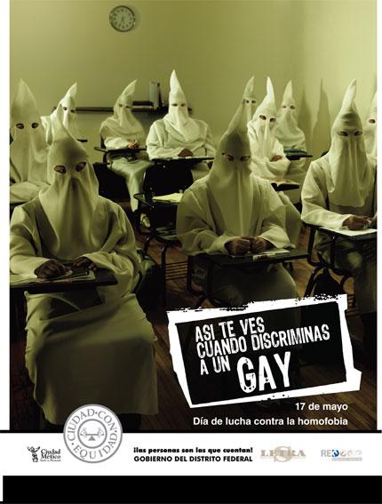 Así te ves cuando discriminas