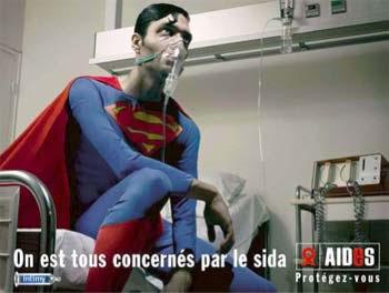 Inclusive los superhéroes pueden contraer SIDA