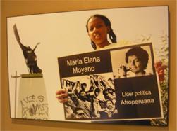 03. Perú: Se realizó panel y muestra fotográfica sobre la historia y futuro de las mujeres afrodescendientes