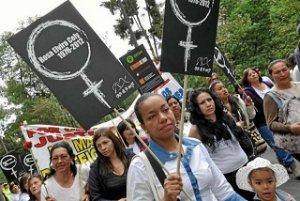 14. Colombia: Feminicidio se castigaría hasta con 50 años de cárcel