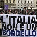 16. Italia: Las mujeres italianas se movilizan contra Berlusconi