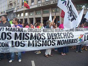 12. Internacional: Celebraciones por Marchas del Orgullo LGBT