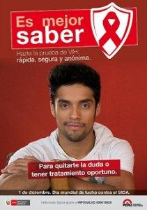 02. Perú: Ministerio de Salud conmemora el Día Mundial de la Lucha contra el Sida