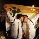 07. Perú: Alcaldesa de Lima amadrinó simbólica boda gay