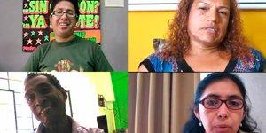 Entrevistas a activistas de la comunidad LGBTI y PVVS