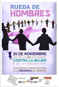14. Perú: Red Peruana de Masculinidades realizó la Rueda de Hombres como parte del Día de la No Violencia Contra la Mujer