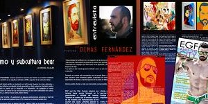 Entrevista al pintor Dimas Fernández: Activismo y Subcultura Bear