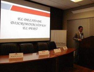 07. Perú: IESSDEH organizó taller de capacitación en temas de diversidad sexual a defensores públicos del Ministerio de Justicia