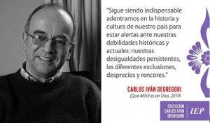 24. Perú: El Instituto de Estudios Peruanos presentó la colección y archivo personal de Carlos Iván Degregori
