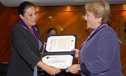 00. Perú: Universidad Peruana Cayetano Heredia condecoró a la directora de ONU Mujeres, Michelle Bachelet con el grado de Doctora Honoris Causa