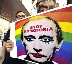 23. Rusia: Se afianzan en Rusia leyes anti homosexuales