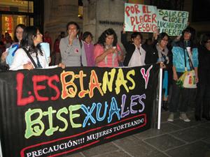 13. Perú: Acciones por el Día de las Rebeldías Lésbicas feministas en América Latina y el Caribe