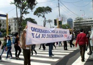17. Perú: Realizan acciones a favor de la ordenanza antidiscriminatoria a población LGBT