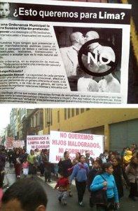 """00. Perú: Grupos religiosos se oponen a la """"Ordenanza de Igualdad y Contra la Discriminación LGBT"""" promovida por la Municipalidad de Lima"""