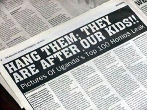 """14. Uganda: Tras presión internacional detiene Ley """"Mata a los gays"""""""