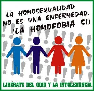 16. OMS: La homofobia es lo que debemos curar