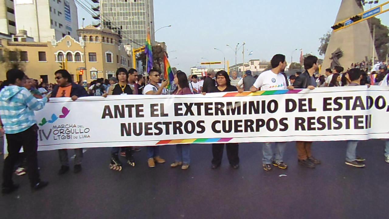 11. Ciudadaniasx: Lesbianas, gays, bisexuales, trans e intersexuales denuncian exterminio de Estado Peruano