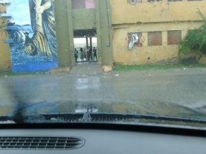 La Marina en San Cristóbal, lugar de damnificados de viejas tormentas.