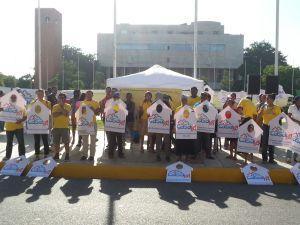 Vigilia frente al congreso Lunes 12 de octubre