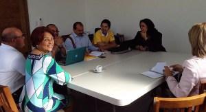 CasaYA se reúne con Minou Tavárez Mirabal