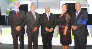 enry Sahdalá, Pedro Luis Castellanos, Chanel Rosa Chupany, Nélsida Marmolejos y Rafael Pérez Modesto.