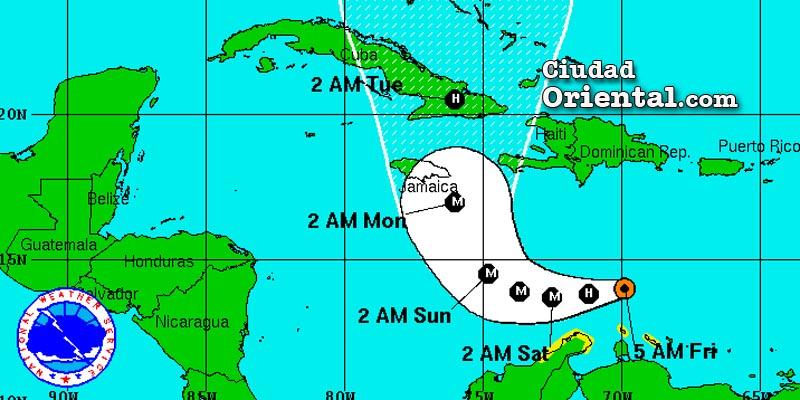 Atentos al avance del huracán Matthew, aunque está lejos costa RD