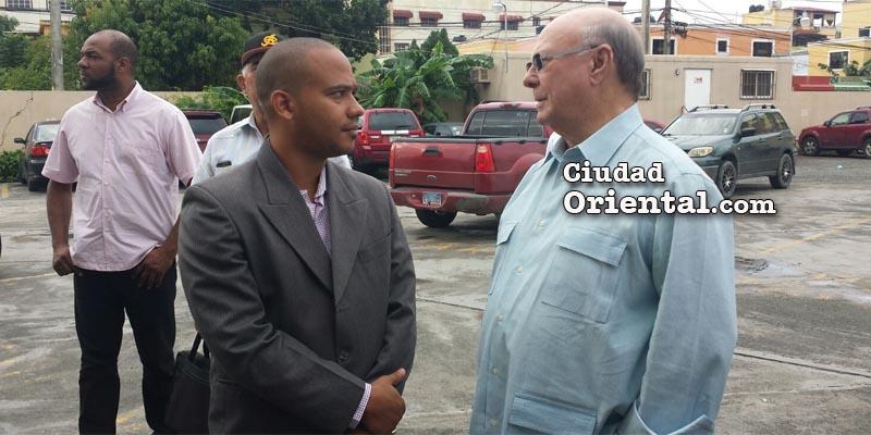 """Hipólito Mejía en la Fiscalía: """"no voy a tapar a nada ni a nadie"""""""