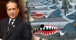 Reynaldo Pared Pérez y aviones súper Tucano