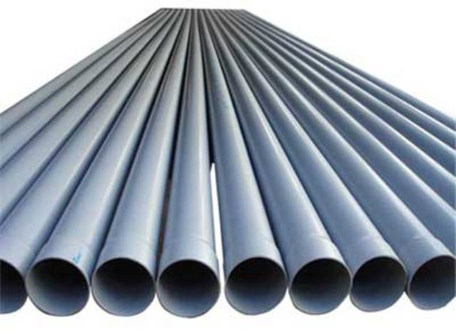 6 types of pipes most commonly used in building