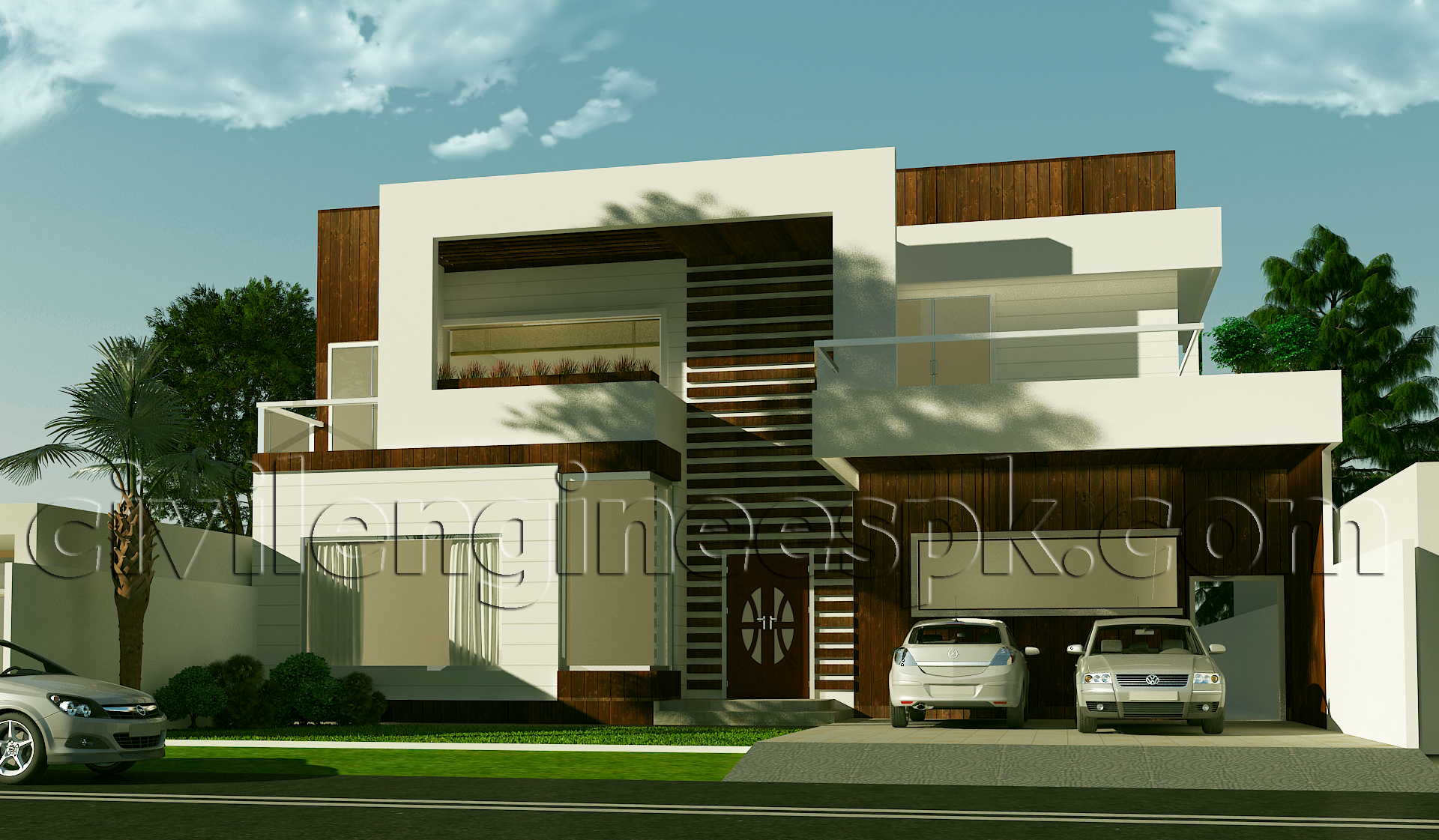 New 1 kanal house plan civil engineers pk House plan 3d view