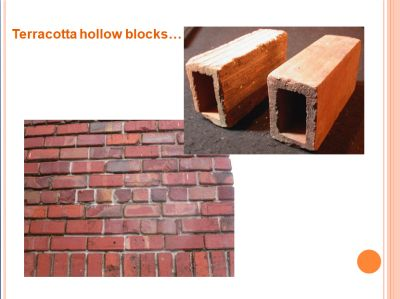Terracotta blocks