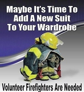 Volunteer Firefighters Are Needed