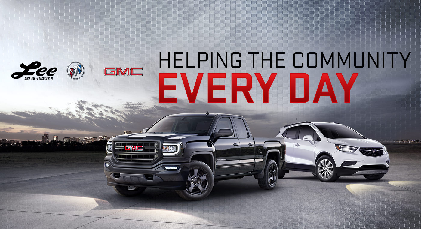 Lee Buick GMC is a Crestview Buick  GMC dealer and a new car and     Lee Buick GMC is a Crestview Buick  GMC dealer and a new car and used car  Crestview FL Buick  GMC dealership   Community Involvement