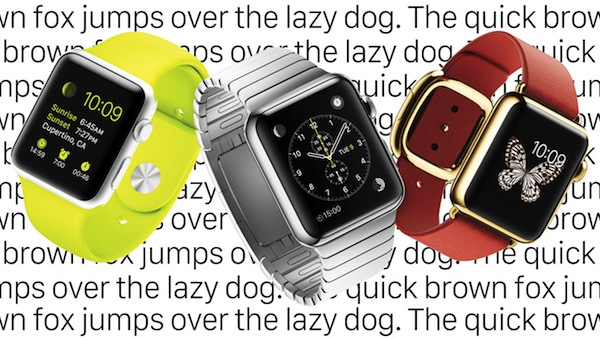 San Francisco, la nueva fuente de Apple para su smartwatch
