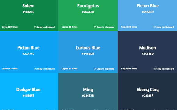 Get UI Colors: Colores HEX