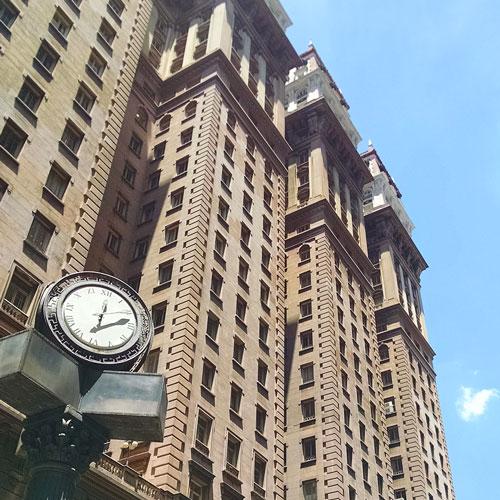Visita ao Terraço do Edifício Martinelli