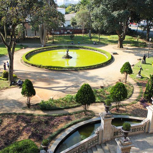 Jardim da Luz em São Paulo