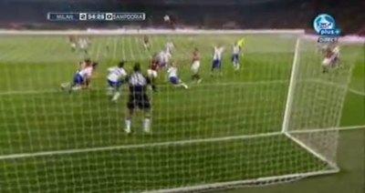 Milán vs. Sampdoria 2-0 Calcio Serie A (Antonio Cassano penalty Goal) - Videos - Metatube