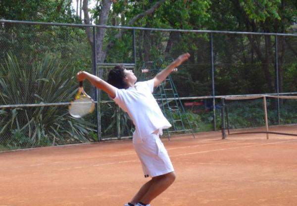 Tenis  Presente  no Regional de Ténis – Sub 16