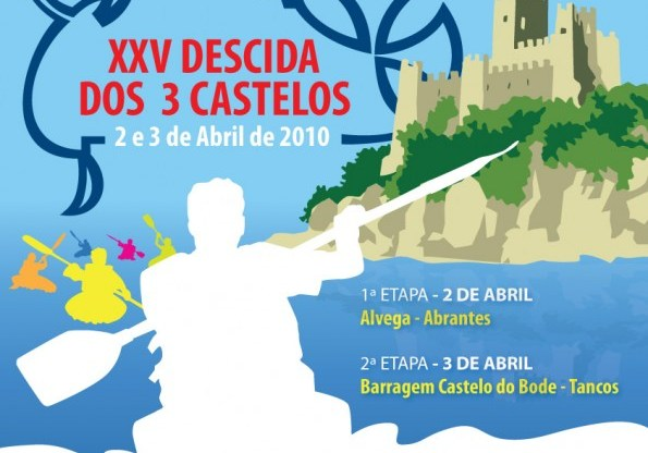 Noticias da Descida dos 3 Castelos 2010