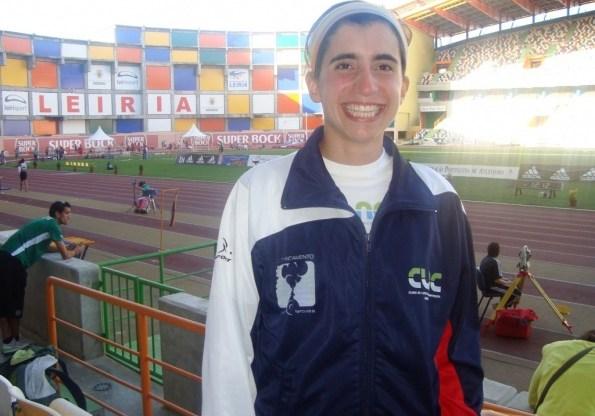 Joana Lopes esteve nos Campeonatos de Portugal