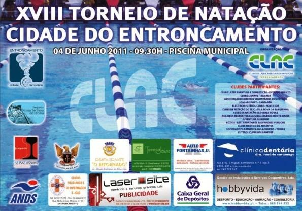 """XVIII Torneio Natação """"Cidade do Entroncamento"""""""
