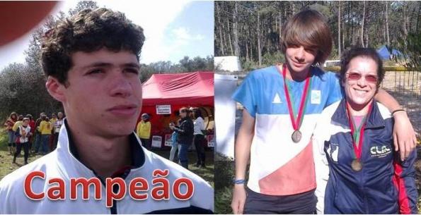Daniel Catarino campeão nacional distancia média em Orientação