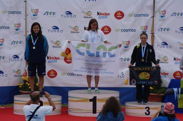 Sarah Dias (JUV) sagra-se Campeã Nacional dos 100m Livre