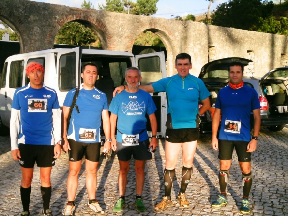 Equipa CLAC - V Trail noturno de óbidos