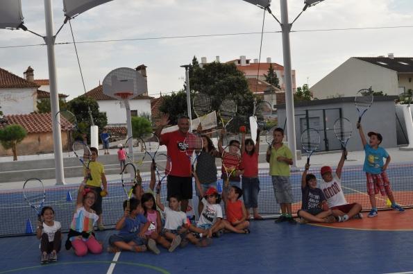Ténis sensibiliza Escola Básica da Zona Verde