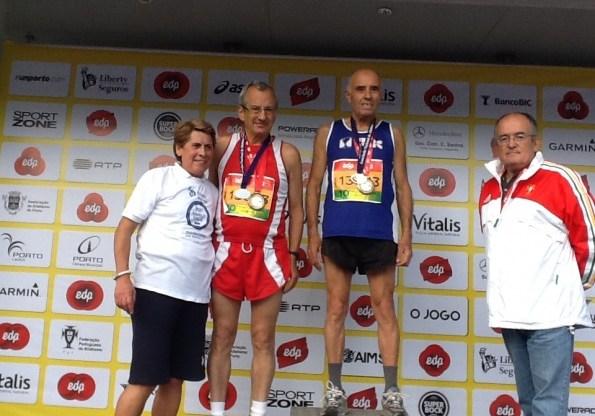 Manuel Maia Campeão Nacional Maratona no escalão M 70 anos