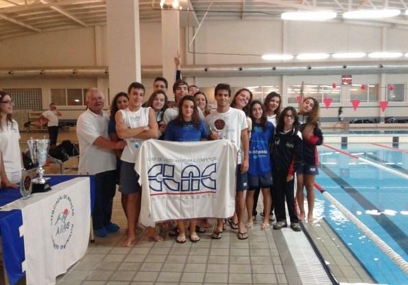 Natação o CLAC 4º lugar no Campeonato Regional Clubes